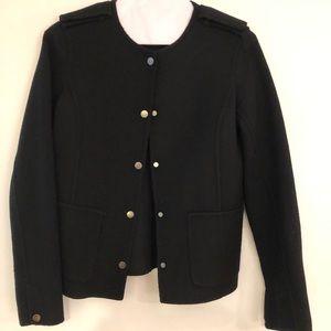 VINCE wool blend classic jacket